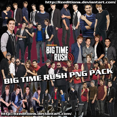 Big Time Rush png Pack by LizEditions