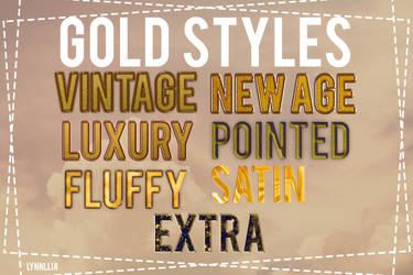 Gold Styles by lynnllia