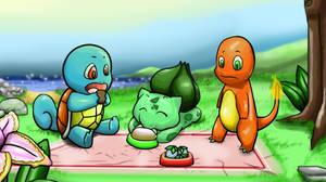 Pokemon interactive ~ Kanto starters