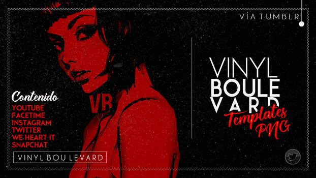 Templates PNG by Vinilboulevard
