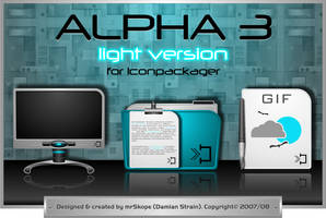 Alpha 3 Light by mrSkope