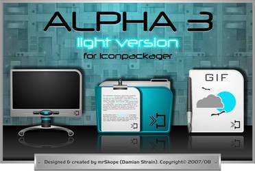 Alpha 3 Light by mrSkope