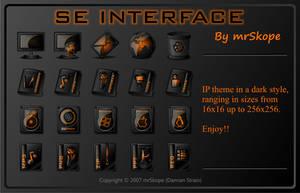 SE Interface orange by mrSkope