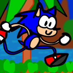 Sonic dumb running - flash with music