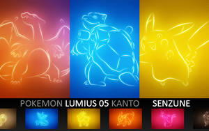 Pokemon Lumius 05 Kanto by Senzune