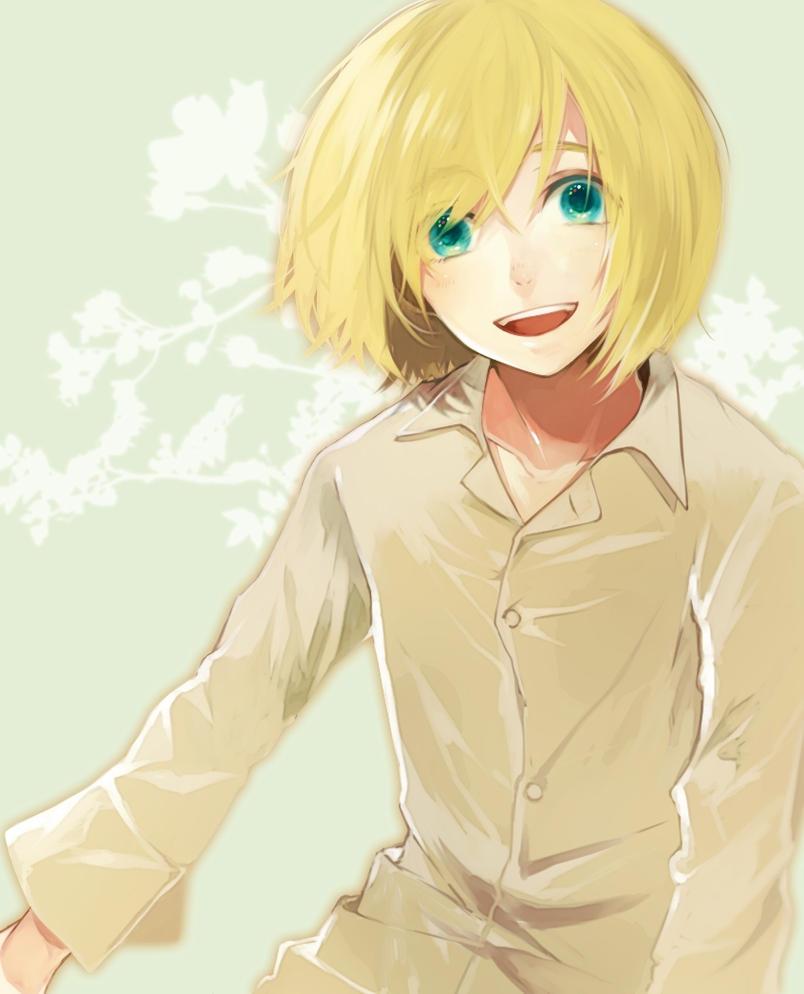 Attack On Titan X Modern Reader: Armin X Reader [AU] By Hanabi-ko On DeviantArt