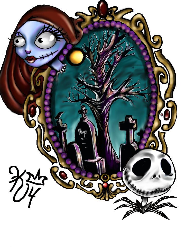nightmare before christmas tattoo design by aku-chi on DeviantArt