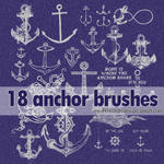 18 anchor brushes.