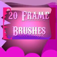 20 Frame Brushes by ObscureLilium