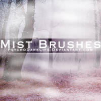 Mist Brushes by ObscureLilium