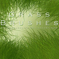 Grass Brushes by ObscureLilium