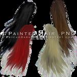 4 Painted Hair in PNG