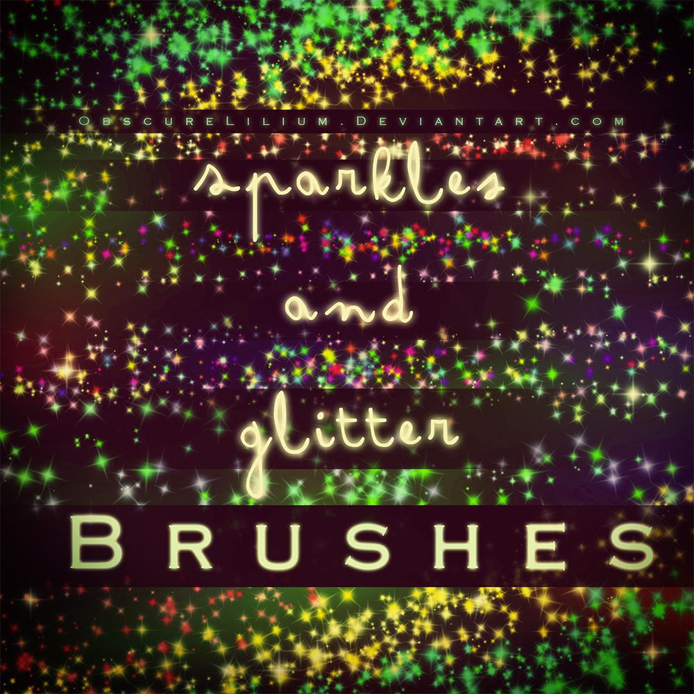 Sparkles and Glitter Brushes