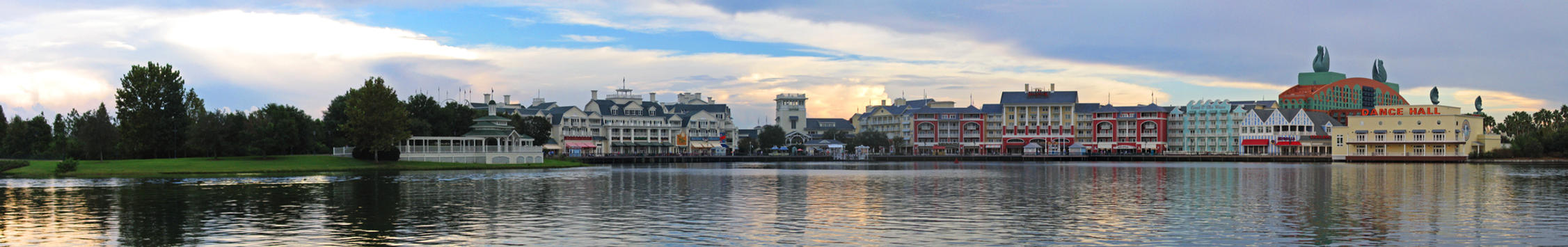 Boardwalk Inn 30 Panorama by AreteStock