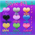 Styles #01 -Luzhy by LuzhyGarcia