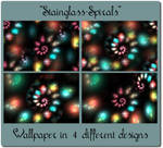 Stainglass-Spirals by Kancano