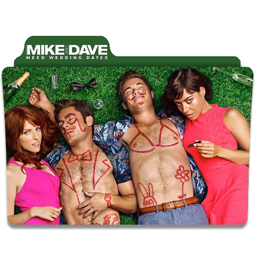 Mike And Dave Need Wedding Dates 2016.Mike And Dave Need Wedding Dates Folder Icon By Iamanneme On