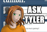 Ask Tyler 2: Wolf Shirt by stkbayfield