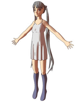 Anime Girl 3D