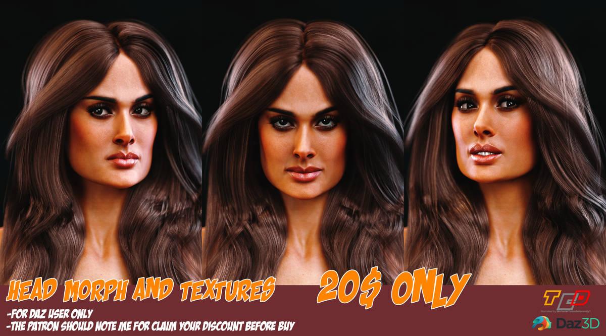 Salma HEADMORPH for sale