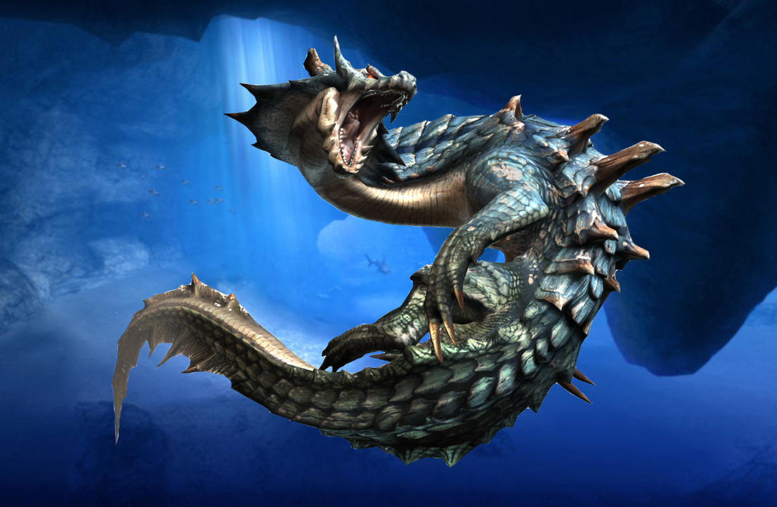 The Lagiacrus Review By Cm25 On Deviantart