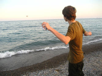 Throwing Stones by eriin