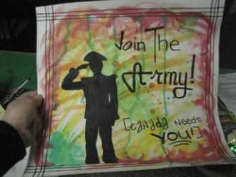 Join the Army-Canada needs YOU by eriin