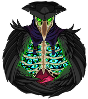 Plague Doctor [green] by Empty-Brooke