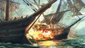 Battle Ship by Quentinvcastel