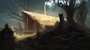 Swamp Hut by Quentinvcastel