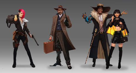 Characters by Quentinvcastel