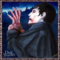 Portrait of Barnabas - Dark Shadows Contest by rwcombs