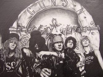 Guns N' Roses by iceman47536