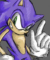 Old Style: Sonic by neodoodot