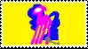 Mom (blacksquares) - 3 stamp by italy4eva