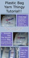 Grocery Bag Yarn Tutorial by SuperBunny-GO