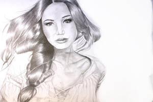 Katniss by The-mocking-jay