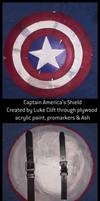 Captain America's Shield by Neutron-Flow