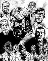Walking Dead P1 - Enemies by Neutron-Flow
