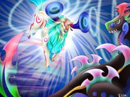 Dream Fight by KirraDes