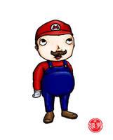 FatKid - Its-a me, Mario by MonkeyMan504
