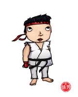 FatKid - Player 1: Ryu by MonkeyMan504