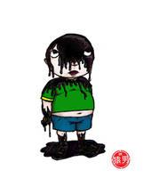 FatKid - Oil Spill by MonkeyMan504