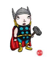 FatKid - the Mighty Thor by MonkeyMan504