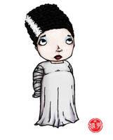 FatKid - Bride of Frankenstein by MonkeyMan504
