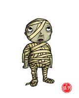 FatKid - Curse of the Mummy by MonkeyMan504
