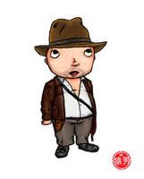 FatKid - Indiana Jones by MonkeyMan504