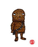 FatKid - Chewbacca by MonkeyMan504