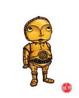 FatKid - C3PO by MonkeyMan504