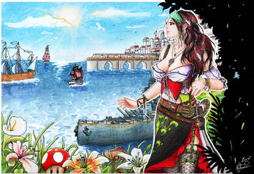 Pirate Life for Me by mustingel